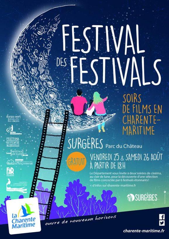 affiche festival des festivals à Surgères
